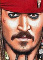 Captain Jack Sparrow sketch by Dr-Horrible