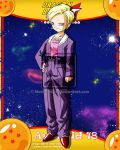 DBGT Android 18 V2 by Metamine10