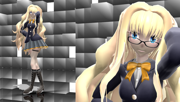 Tda School SeeU DL by Reineru-kun