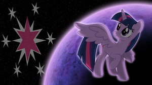 Alicorn Twilight 1600x900 Wallpaper by cutedox
