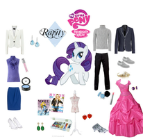 Rarity polyvore set by mexicangirl12