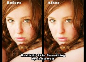 Realistic Skin Smoothing by Lady-Trevelyan