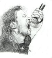 Metallica - James Hetfield by Amandia