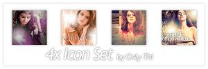 Selena Gomez - Icon Set 24 by only-thi