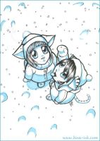 Snow on your Tongue by kina