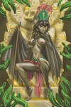 COMMISSION- Bat Queen NSFW by SpaceFur