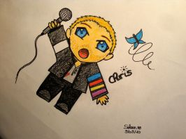 Chibi Chris Martin by TearsOfStarryDream