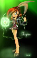 Power it up Bunny gal by Inked-Alpha