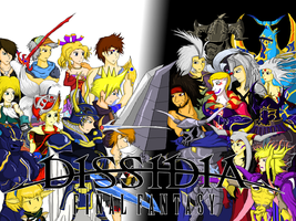 Dissidia: Final Fantasy by CrossoverGameReviews