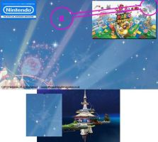 Super Mario 3D World  and  Galaxy ? by malerfique
