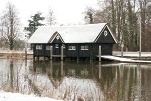 Boathouse along the Vecht - bv by steppelandstock