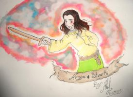 Arya Stark-Game of Thrones by Ale-L