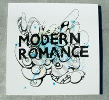 Modern Romance Canvas by Jawa-Tron