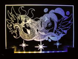 MLP - 'Divine Princess' (ENGRAVE+LED) by Ksander-Zen