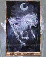 The Chariot Tarot Card by sobeyondthis