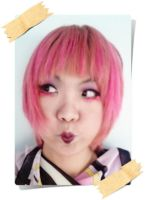 12.10.2011 Pink Hair by Jika-Jika