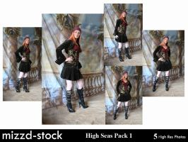 High Seas Pack 1 by mizzd-stock