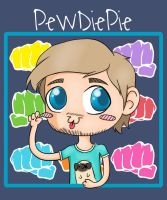 PewDiePie by Hulkinia