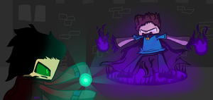 The HeroBrine by BloodMonster2