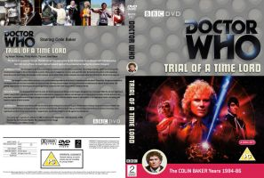 Doctor Who Trial of a Time Lord Region 2 DVD Cover by DJToad