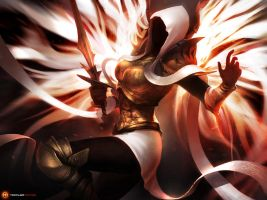 Auriel, archangel of Hope by TamplierPainter