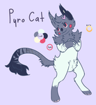 Pyro Cat NYP Adopt [OPEN] by ChainsawTeaParty