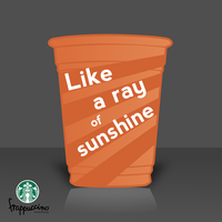 Ray of Sunshine for Starbucks by GamerWorld14