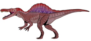 Spinosaurus a. Concept remake by beastisign