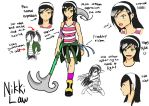 Character Sheet : Nikki Law by suichio