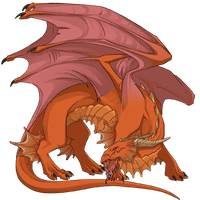 My other Flight Rising dragon by InvaderTraditore