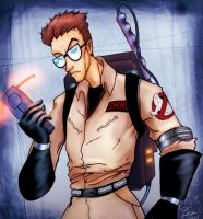egon spengler by drowned-ophelia
