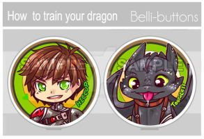 HTTYD2 Button set by jinyjin