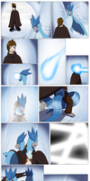 Comission: Frozen Cavern (Articuno TF) by PhoenixWulf