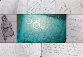 Blue Notebook Giveaway! - CLOSED by SilverInkblot