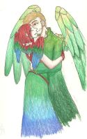 .: Parrots :. by bell-chann