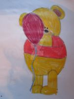 Winnie The Pooh by Chrissijulius