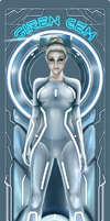 Gem | Tron Legacy by Fluorescentteddy