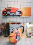 Lightcycle Papercraft by Whuzzit