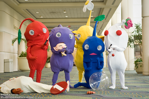 Revenge of the Pikmin by CosplayCousins