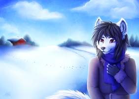 Winter Land by Neko-Maya
