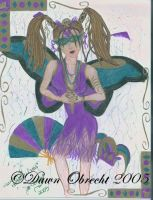 Queen of Mardi Gras by jenely
