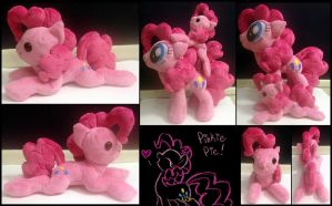 Pinkie Beanie or Shoulder Pony Plush -For Sale- by AlicornParty