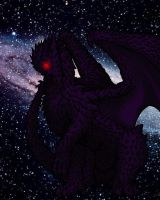 Darkness Dragon by Pencil-Artisan