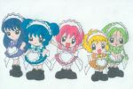 Tokyo Mew Mew Chibi's by addicted-to-evil