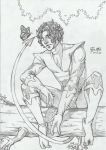 Nightcrawler - pencil by Fabio-mikk