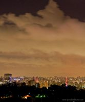 Night in Sao Paulo III by IGORLUKAS