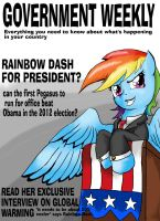 Rainbow Dash for Pres? by Blabyloo229