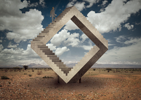 Stairway to nowhere by zenron