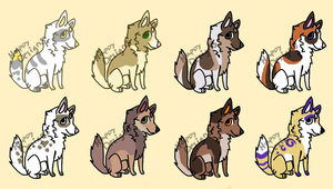 Wolf Breedables 1 by HappyDesigns