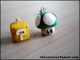 .:Mario earrings:. by SaMtRoNiKa